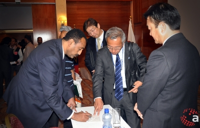 Andalem at the Ethio-Japanese Investment Seminar August 2014