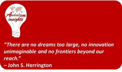 Inspirational quote: John S Herrington