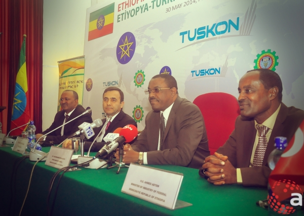Andalem at Ethio-Turkish Trade and Investment Forum May 2014