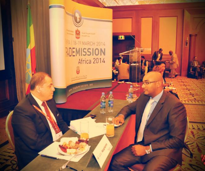 Michael At Trade Mission Africa 2014